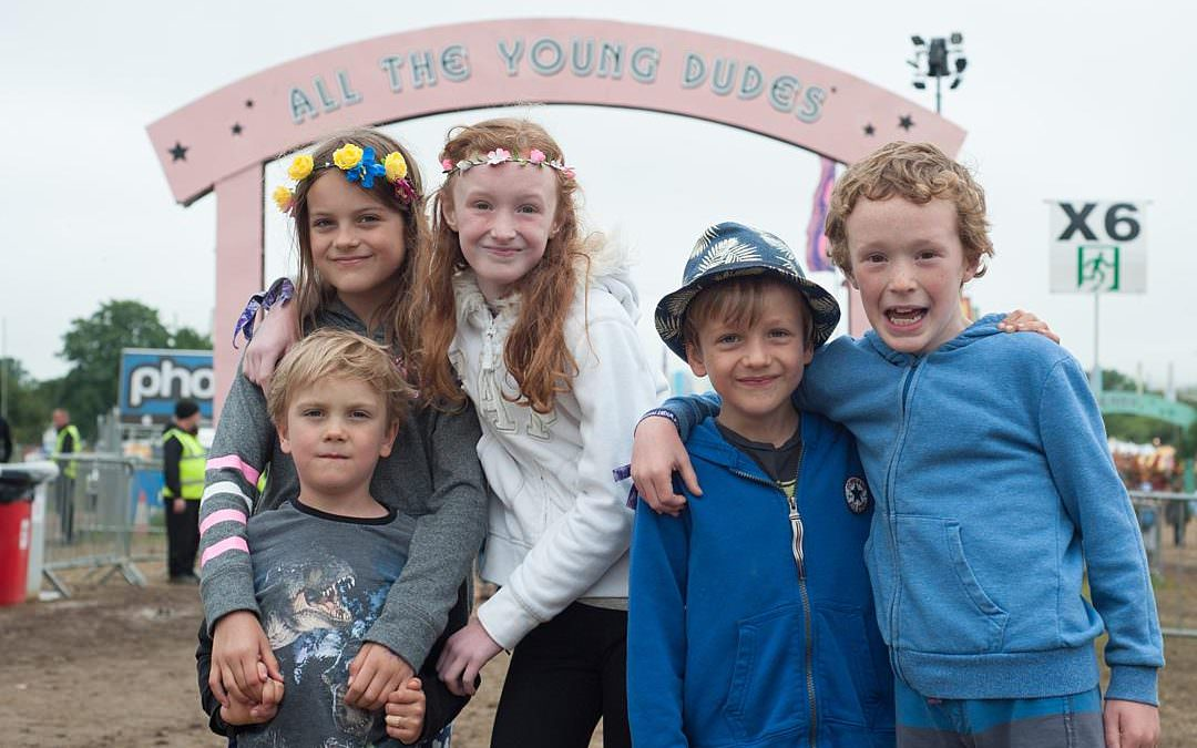 Isle Of Wight festival with kids