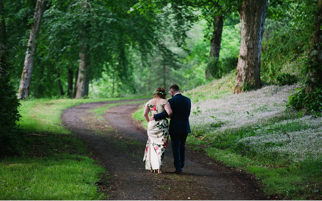 A fabulous, foodie wedding in the Scottish Highlands