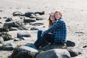engagement shoot cramond beach Edinburgh_0036